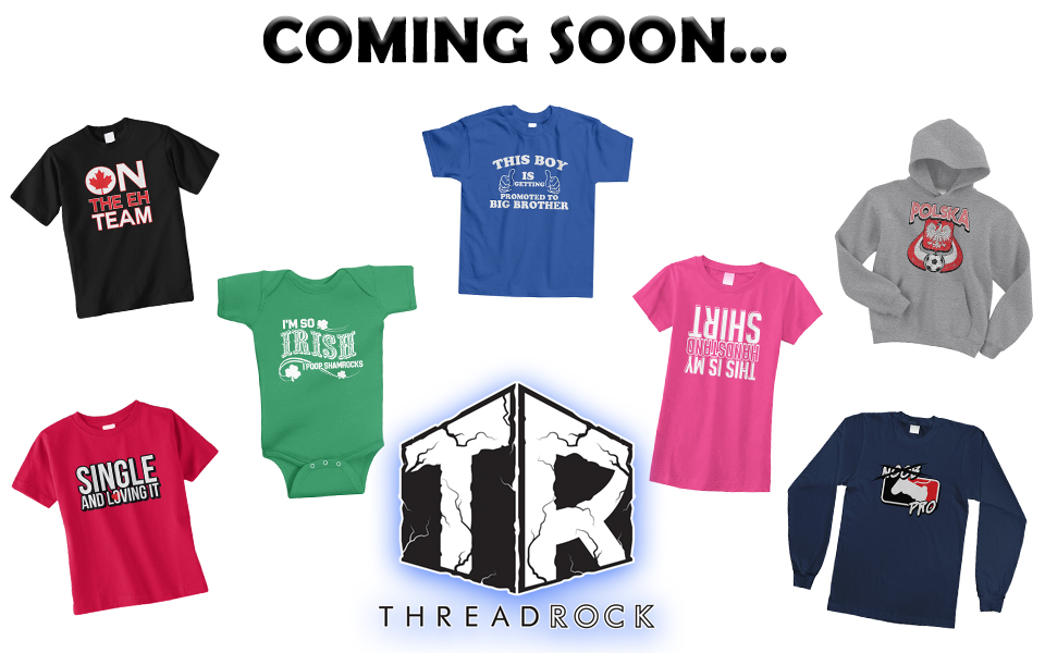 New Youth/Toddler/Infant Products, Coming Soon